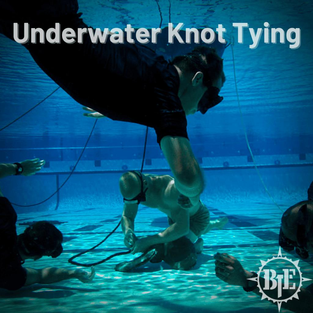 Underwater Knot Tying