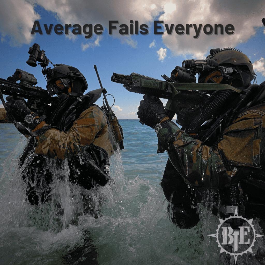 Average Fails Everyone
